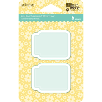 Jillibean Soup JAR Tag Insert Shaped Shaker jb1362