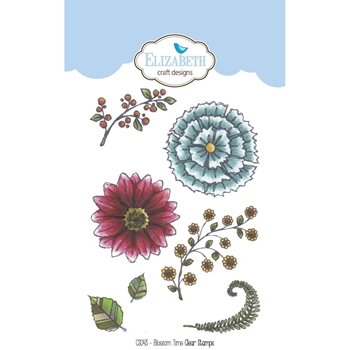 Elizabeth Craft Designs Clear Stamps BLOSSOM TIME CS043
