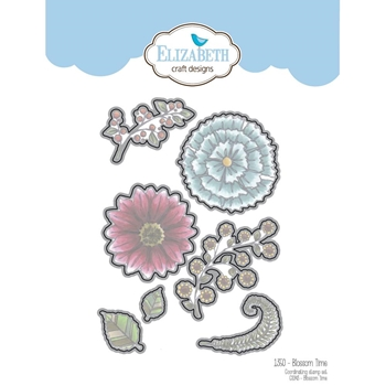 Elizabeth Craft Designs BLOSSOM TIME Craft Die 1350