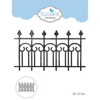 Elizabeth Craft Designs IRON FENCE Craft Die 1396