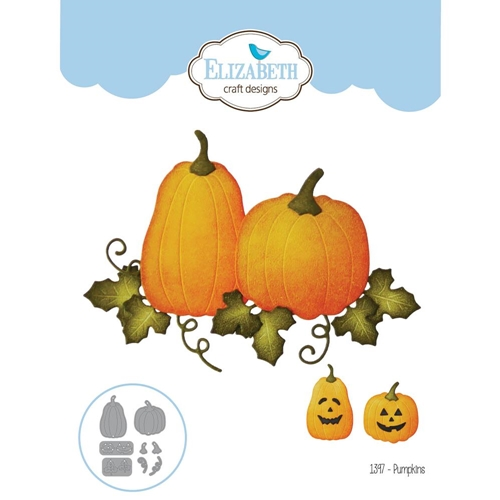 Elizabeth Craft Designs PUMPKINS Craft Die 1397 Preview Image