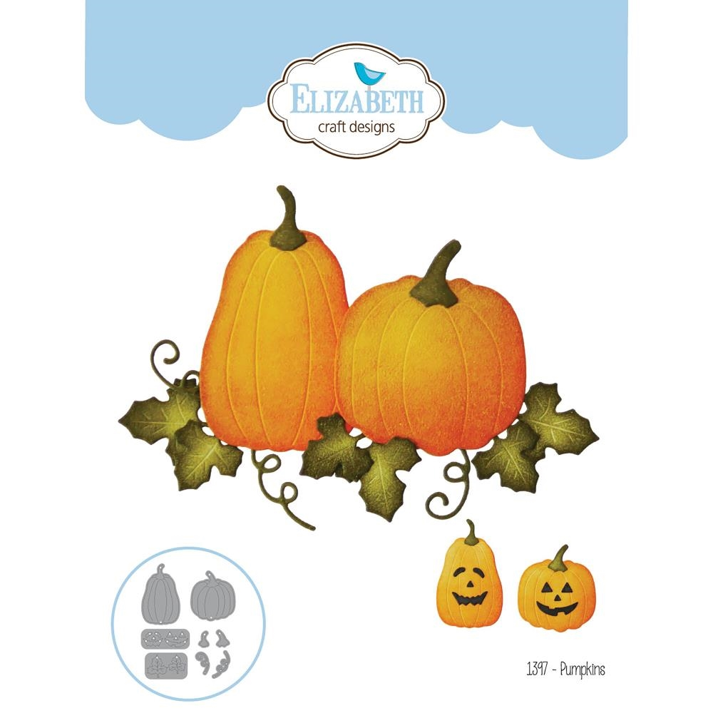 Elizabeth Craft Designs PUMPKINS Craft Die 1397 zoom image