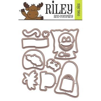 Riley and Company Cool Dies DRESS UP RILEY HALLOWEEN OUTFITS RD19