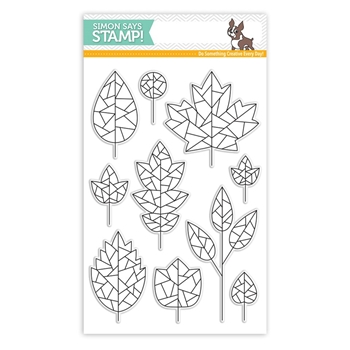 Simon Says Clear Stamps FRACTILE LEAVES SSS101753 STAMPtember
