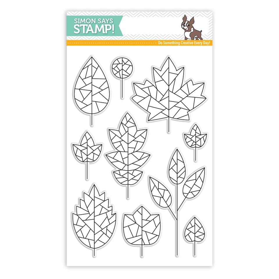 Simon Says Clear Stamps FRACTILE LEAVES