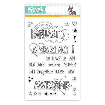 Simon Says Clear Stamps AMAZING MESSAGES SSS101755 STAMPtember