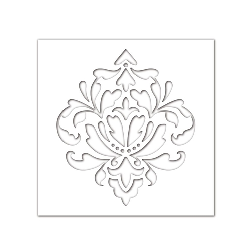 Simon Says Stencils DAMASK SSST121397 Preview Image
