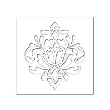 Simon Says Stencils DAMASK SSST121397 STAMPtember