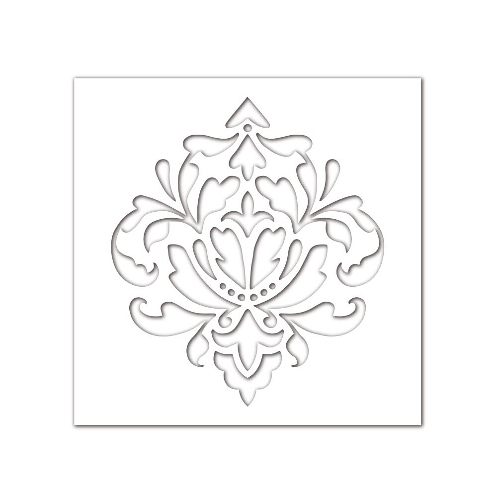 Simon Says Stencils DAMASK