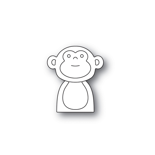Simon Says Stamp PICTURE BOOK MONKEY Wafer Dies S465 STAMPtember Preview Image