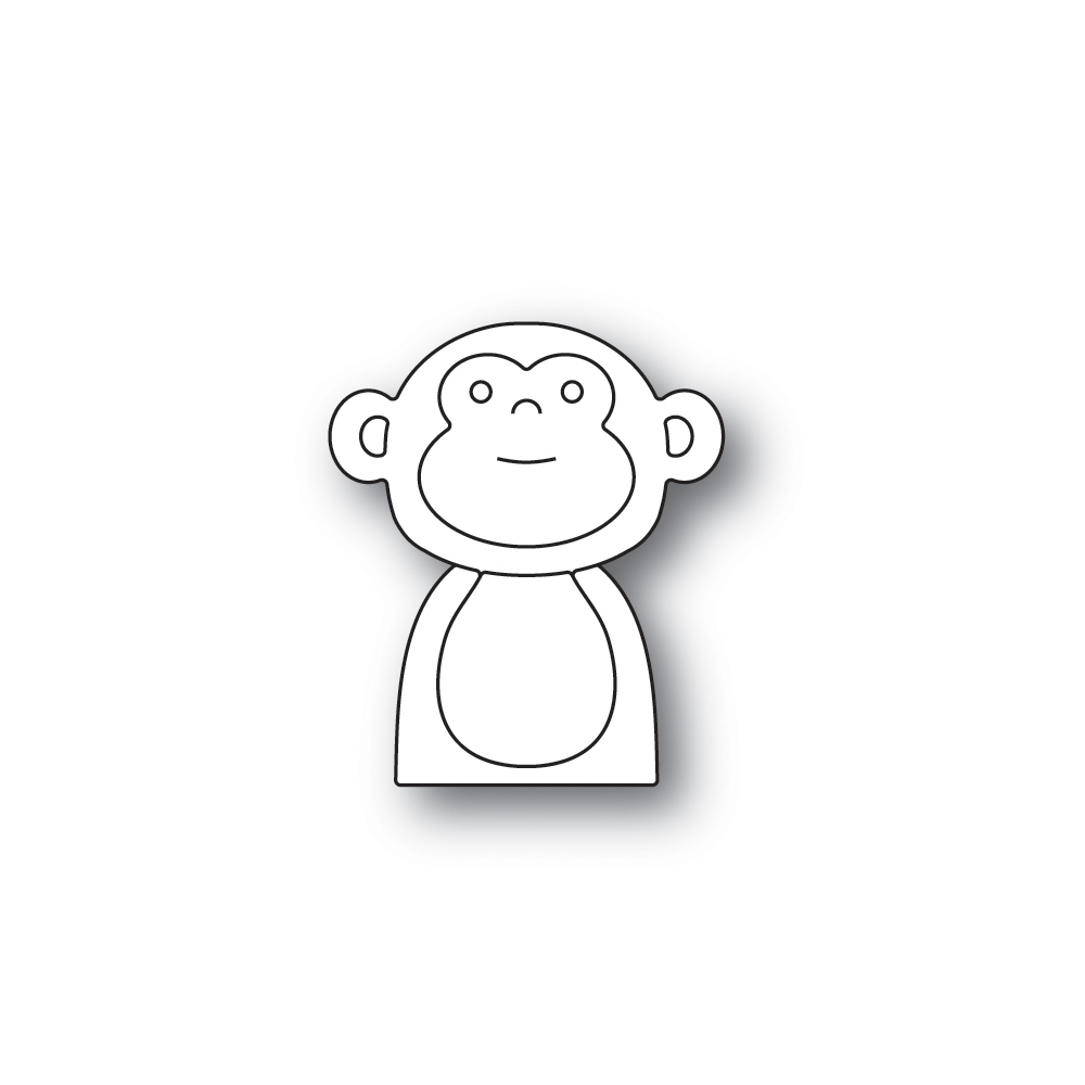 Simon Says Stamp PICTURE BOOK MONKEY