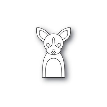Simon Says Stamp PICTURE BOOK CHIHUAHUA Wafer Dies S468
