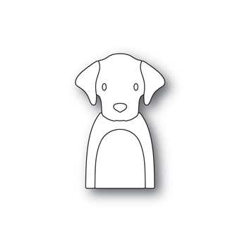 Simon Says Stamp PICTURE BOOK LABRADOR Wafer Dies S469