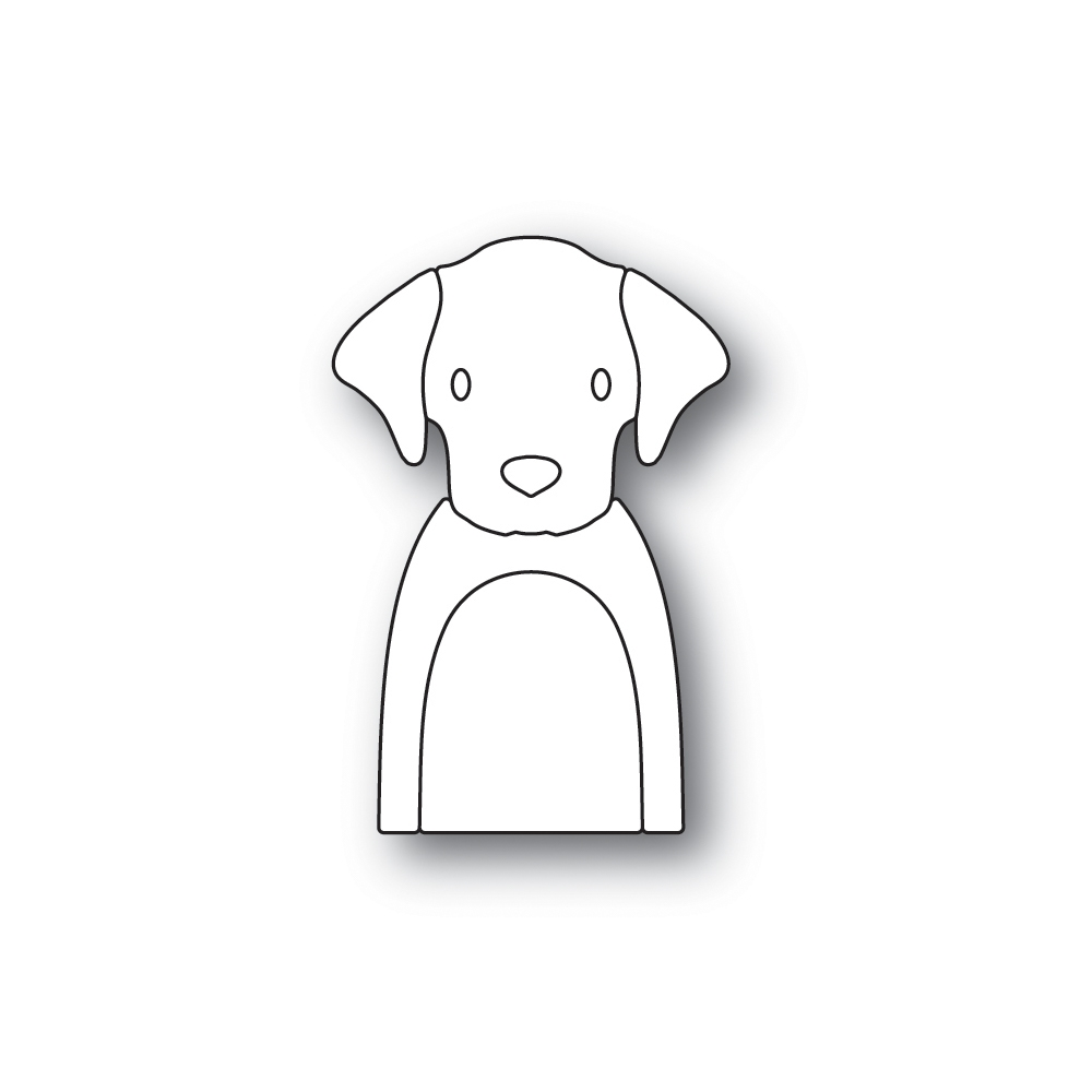 Simon Says Stamp Picture Book Labradoor Die