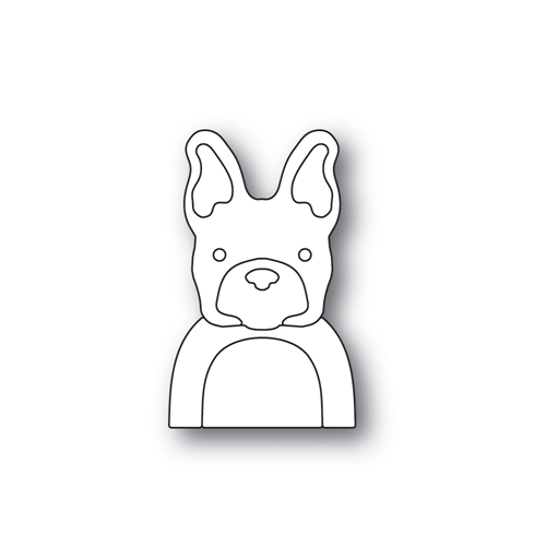 Simon Says Stamp PICTURE BOOK FRENCH BULLDOG Wafer Dies S464 STAMPtember Preview Image