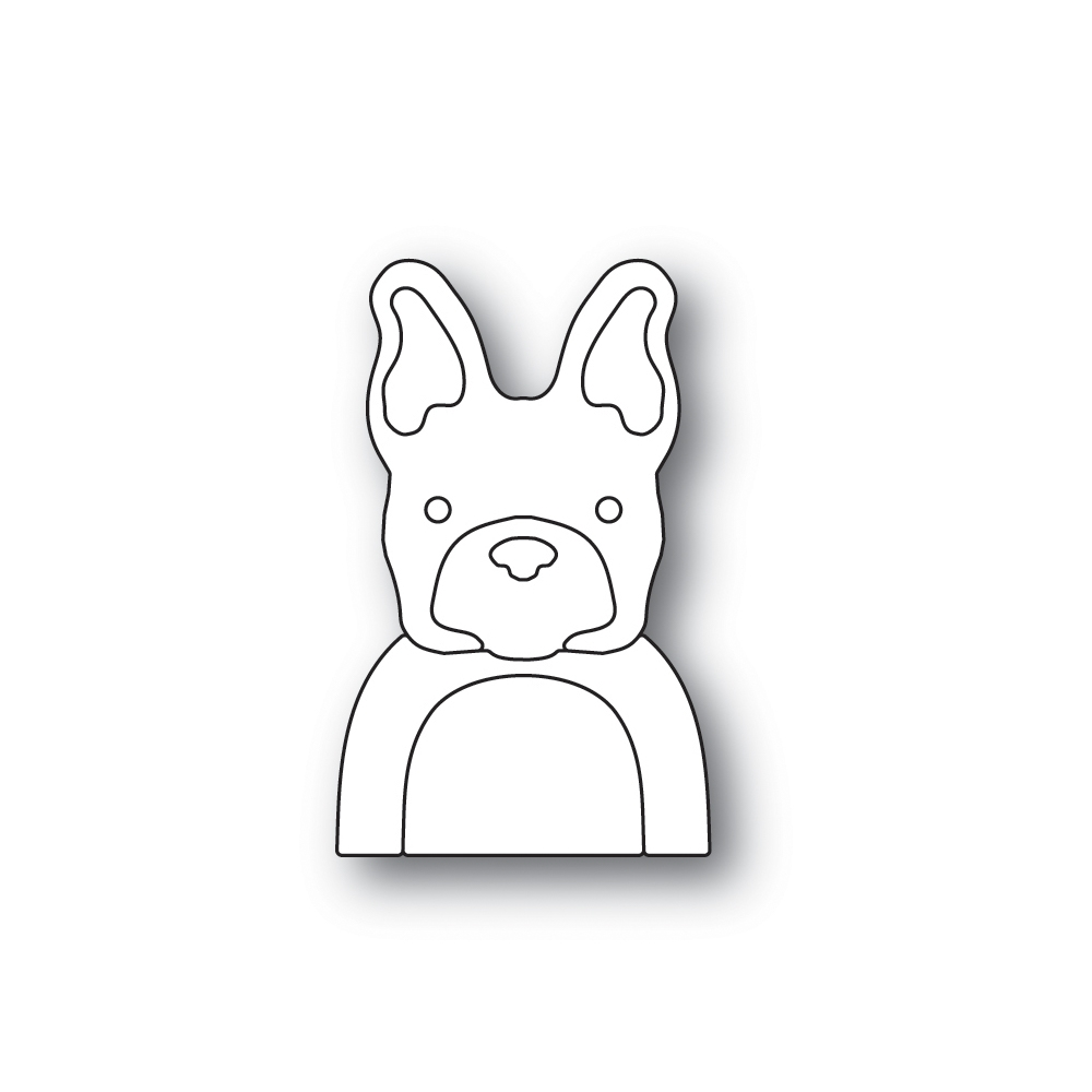 Simon Says Stamp PICTURE BOOK FRENCH BULLDOG