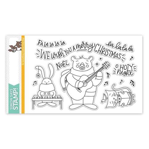 Simon Says Clear Stamps CAROL SINGERS SSS101757 STAMPtember Preview Image