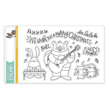 Simon Says Clear Stamps CAROL SINGERS SSS101757 STAMPtember