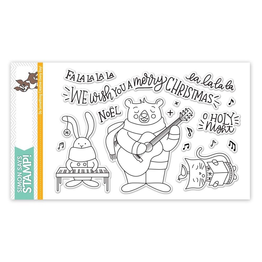 Simon Says Clear Stamps CAROL SINGERS