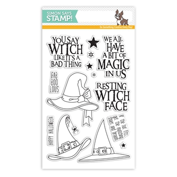 Simon Says Clear Stamps IF THE HAT FITS SSS101758 STAMPtember
