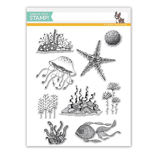 Simon Says Stamptember Under The Sea Clear Stamp Set