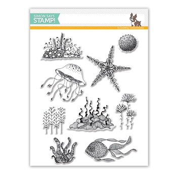 Simon Says Clear Stamps UNDER THE SEA SSS101760 STAMPtember