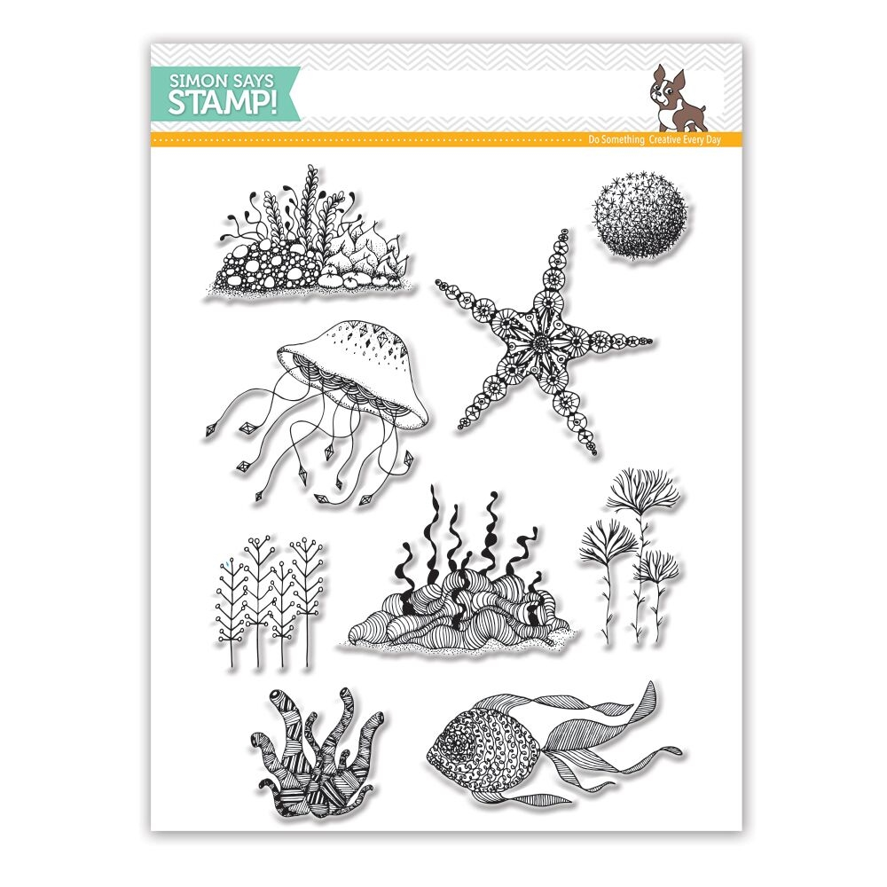 Simon Says Clear Stamps UNDER THE SEA SSS101760 zoom image