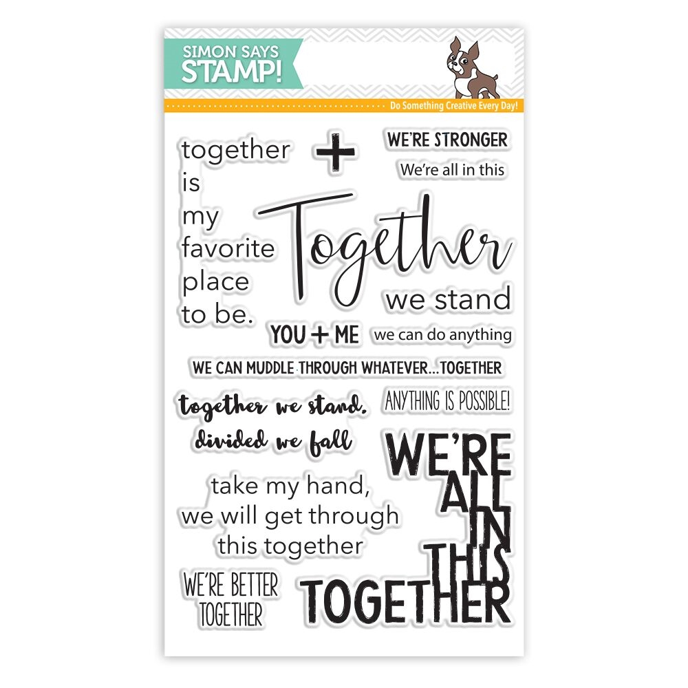 Simon Says Clear Stamps TOGETHER SSS101761 STAMPtember zoom image