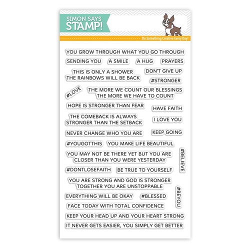 Simon Says Clear Stamps YOU GOT THIS SSS101782 STAMPtember Preview Image