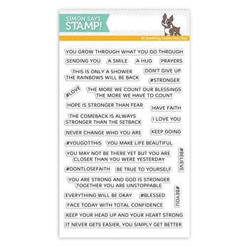 Simon Says Clear Stamps YOU GOT THIS SSS101782 STAMPtember
