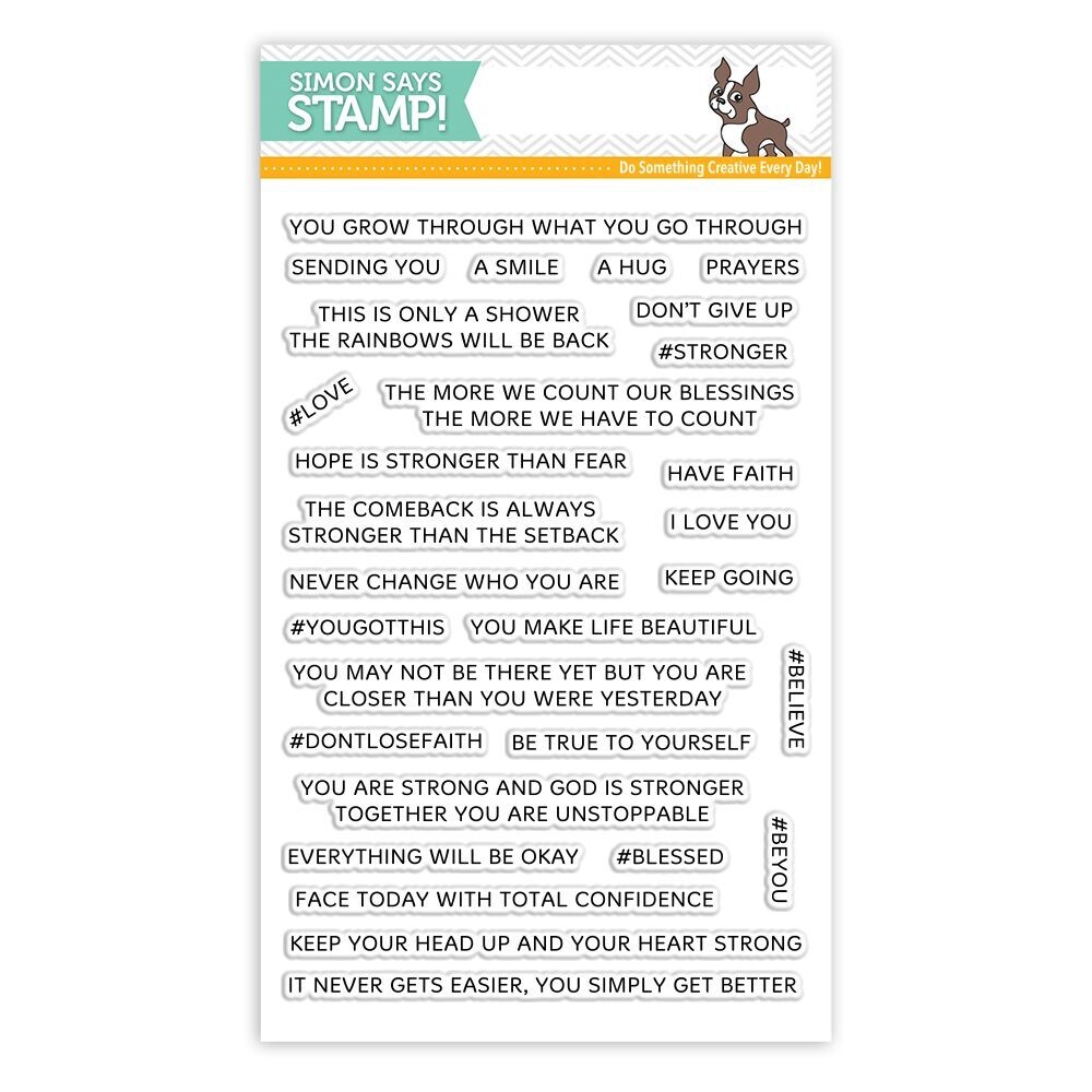 Simon Says Clear Stamps YOU GOT THIS