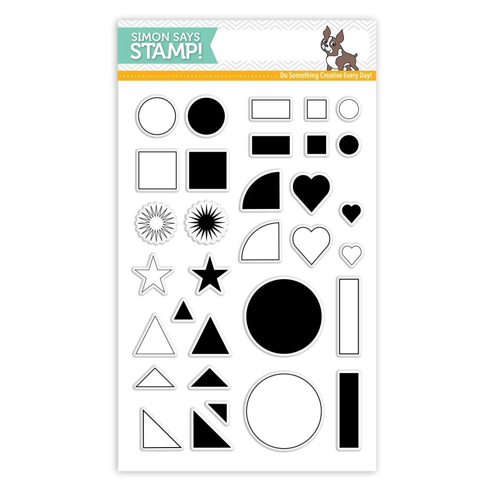 Simon Says Clear Stamp GRID PLAY