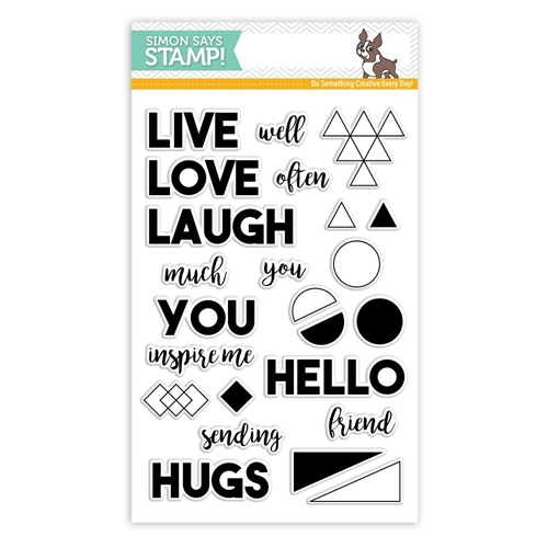 Simon Says Clear Stamp LIVE WELL SSS101795 STAMPtember Preview Image