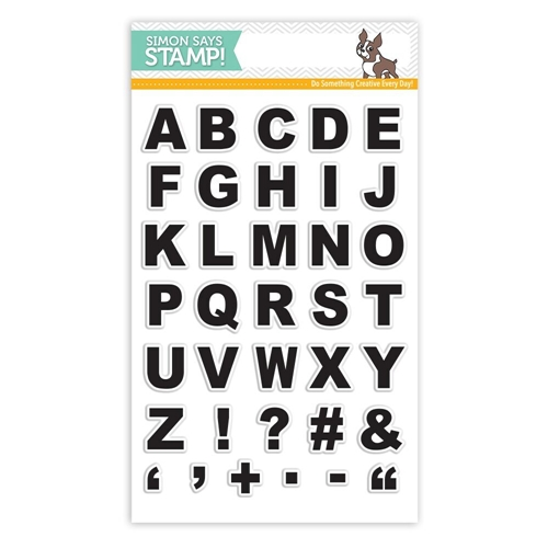 Simon Says Clear Stamp GRID PLAY ALPHA SSS101796 STAMPtember Preview Image
