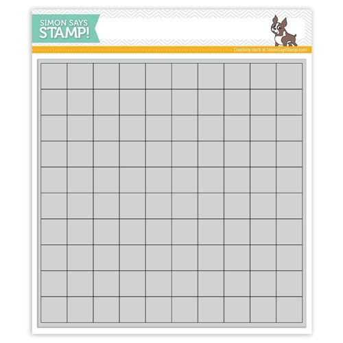 Simon Says Cling Rubber GRID PLAY GRID SSS101797 STAMPtember