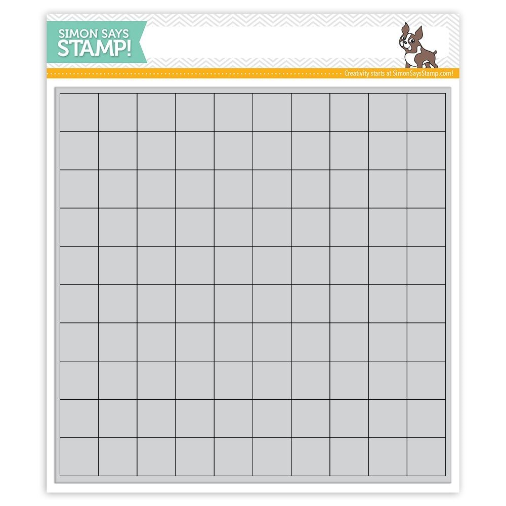 Simon Says Cling Rubber GRID PLAY