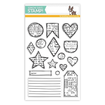 Simon Says Clear Stamp ARTSY SHAPES SSS101722 STAMPtember