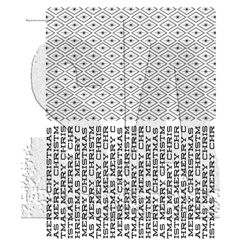 Tim Holtz Cling Rubber Stamps 2017 SPARKLES AND CHRISTMAS CMS324