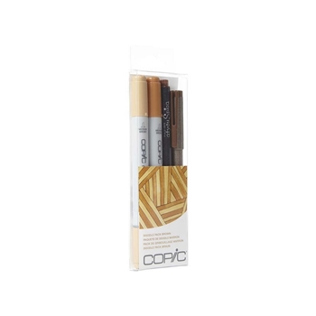 Copic DOODLE PACK BROWN Set 053898