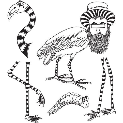 Dyan Reaveley WADDLE WADDLE Cling Stamp DYR59523 Preview Image