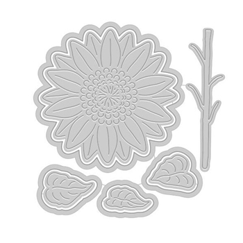 Hero Arts Paper Layering SUNFLOWER Die Set DI435
