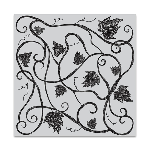 Hero Arts Cling Stamp VINE PATTERN Bold Prints CG721 Preview Image