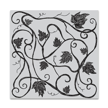 Hero Arts Cling Stamp VINE PATTERN Bold Prints CG721
