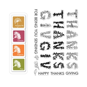 Hero Arts Color Layering THANKSGIVING Bundle SB181