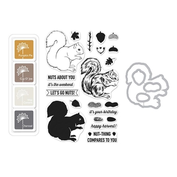 Hero Arts Color Layering SQUIRREL Bundle SB180