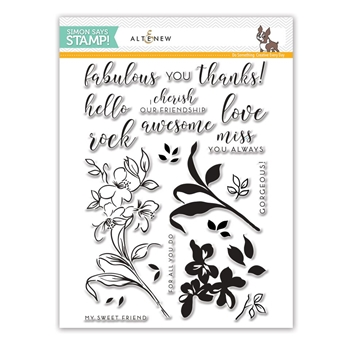 Altenew FABULOUS YOU Clear Stamps SSS101774 Stamptember Exclusive