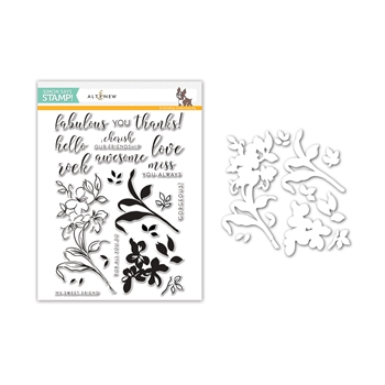 Altenew FABULOUS YOU Stamps and Dies Set SR17ANSet Stamptember Exclusive