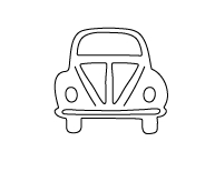 Flora and Fauna VOLKSWAGON CAR Die 30028