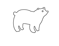 Flora and Fauna POLAR BEAR Die 30038