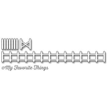 My Favorite Things ANIMAL FARM FENCE Die-Namics MFT1192